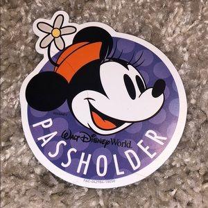 🎉🎊Disney Passholder Magnet🎊🎉